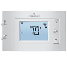 Emerson 1F83C-11NP, 80 Series Conventional 1H/1C Non-programmable Thermostat