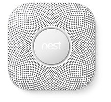 Nest Protect S3004PWBUS, Carbon Monoxide and Smoke Detector, Battery, White