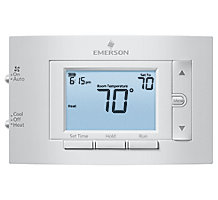 White Rodgers Emerson 1F83C-11PR, 80 Series Conventional 1H/1C Programmable Thermostat