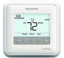 Honeywell TH4110U2005/U T4 Pro Programmable Thermostat, 7-Day, 1H/1C Heat Pump, 1H/1C Conventional