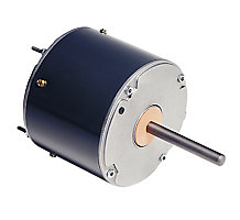 US Motors 3322 PSC Condenser Fan Motor, 1 Speed, 1/3-1/6 HP, 203-230/1, 1075 RPM, TEAO