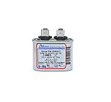 Run Capacitor, Made in USA, 7.5 MFD, 440V, Oval