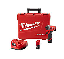 "Milwaukee 2553-22 M12 1/4"" Hex Impact Driver Kit"