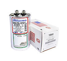 Run Capacitor, Made in USA, 50 MFD, 440V, Round