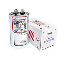 Run Capacitor, Made in USA, 60 MFD, 440V, Round
