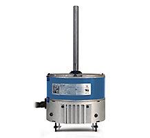 Condenser Fan Motor, ECM, 1/8-1/3 HP, 230V-1Ph, 48 Frame, 825-1075 RPM Range, Reversible Rotation
