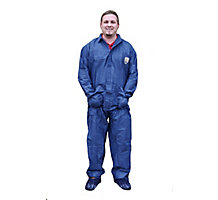 ShuBee TriShield Coverall Without Hood, Blue, XL