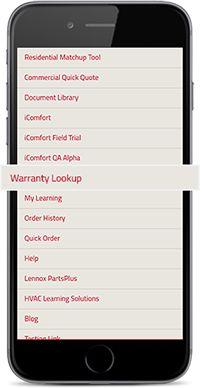 Find Warranty Info Fast | LennoxPROs com